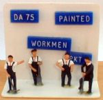 Springside DA75  Workmen with Tools Painted (4)